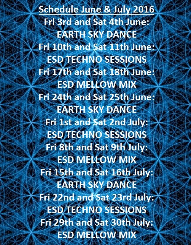 ESD Schedule June July 2016